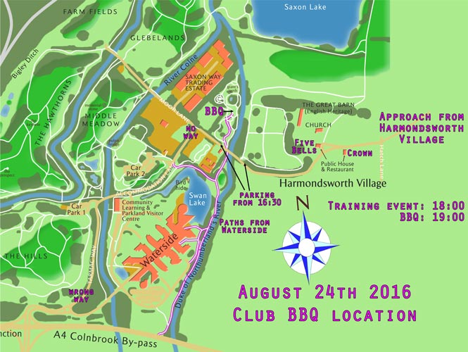 2016 BBQ Location Map