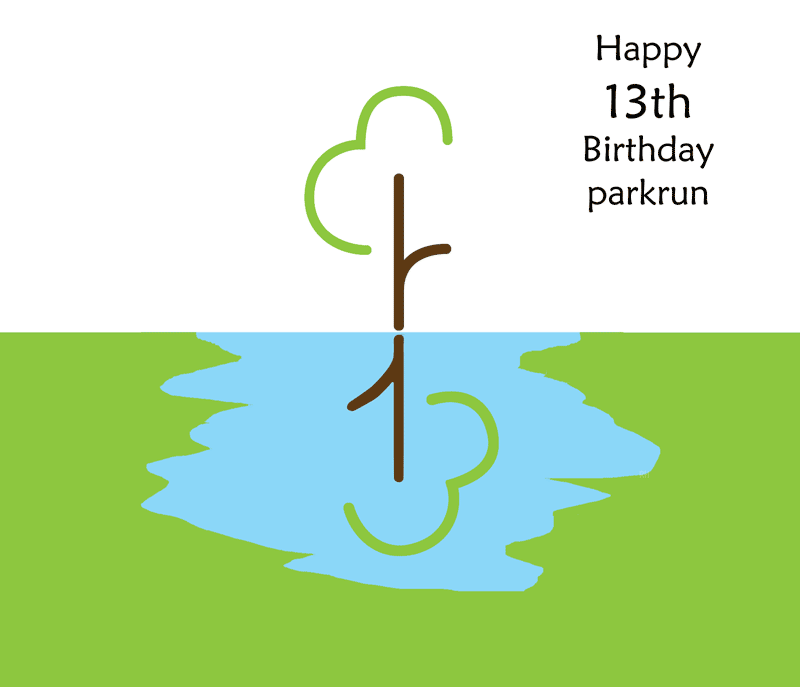 parkrun 13th birthday