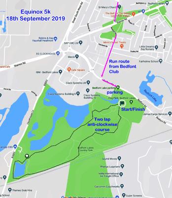 2019 Equinox course
