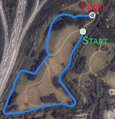 Parkland Mile course