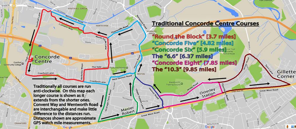 Concorde Centre Courses