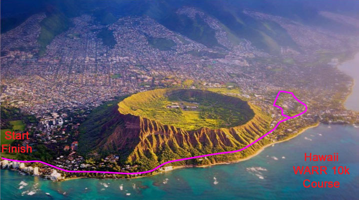WARR Hawaii 10k Course