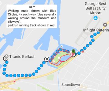Titanic Visit Map