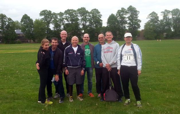 The 2015 BAAC Green Belt Relay Team
