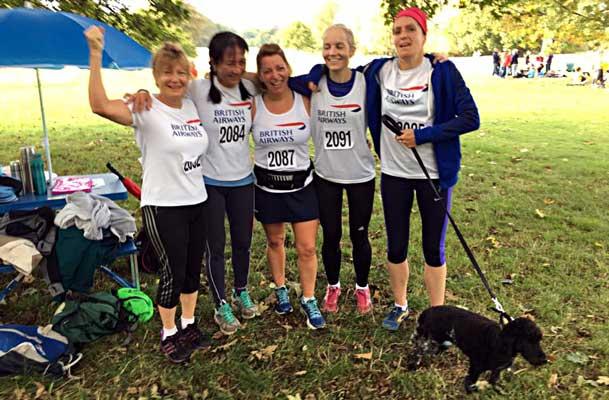 Ladies Cross Country Team