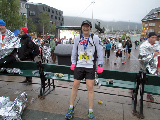 Piers at Midnight Sun Marathon