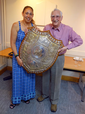 Janet and Laurie with London Business Houses Shield