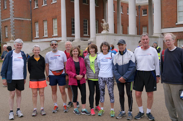 Roderick's 250th parkrun at Osterley