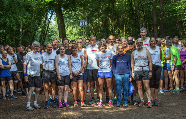 Black Park parkrun team photo