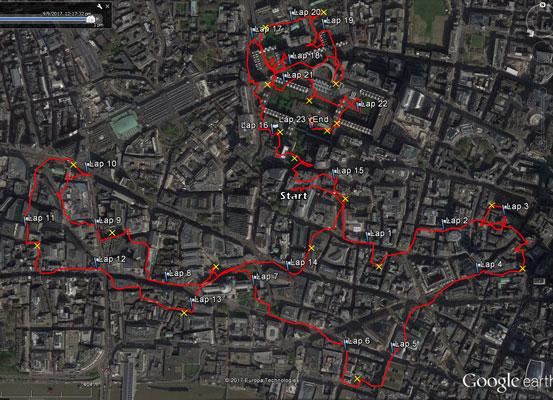 Barbican Orienteering Trail