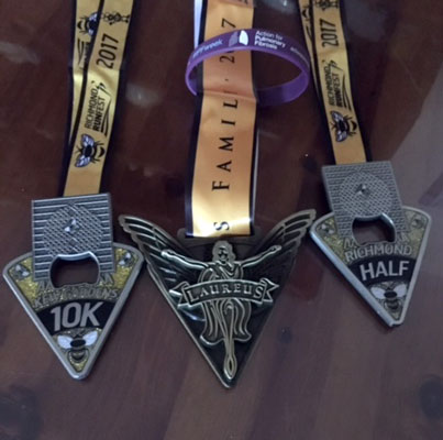 Richmond Runfest Medals