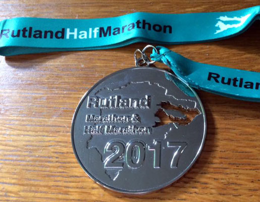 Rutland Marathon Medal