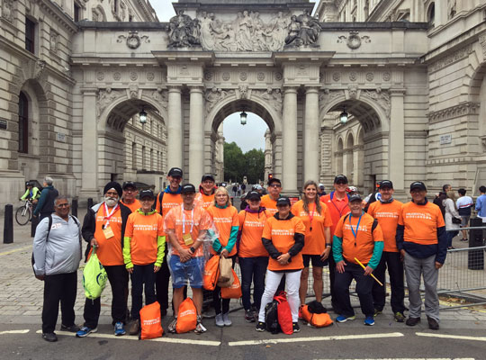 The 2018 Ride London Marshalling Team