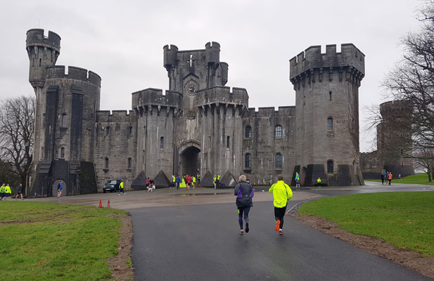Penrhyn parkrun and castle