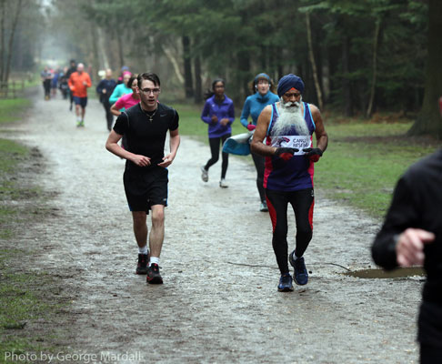 Jas at Black Park parkrun