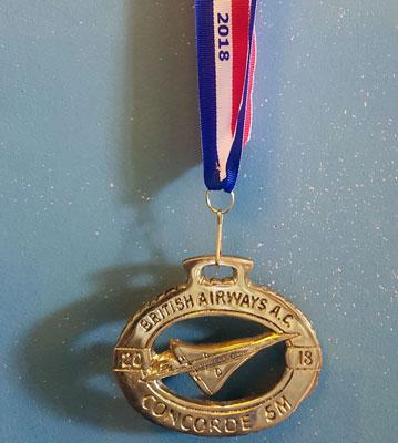 Concorde Five medal