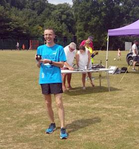 Ian Cunningham Claygate winner