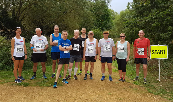 2018 Round the Park runners