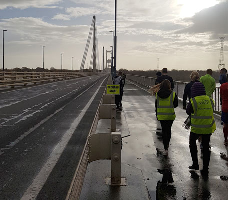 Severn Bridge parkrun start