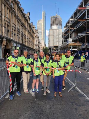 Great City Race London Wall team