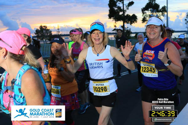 Petra at Gold Coast Marathon