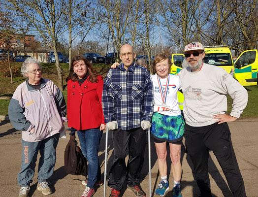 Harrow Hill Race BA Team & supporters
