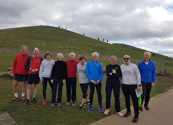 Northala NOW run participants