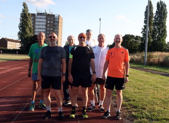 Feltham Mile runners