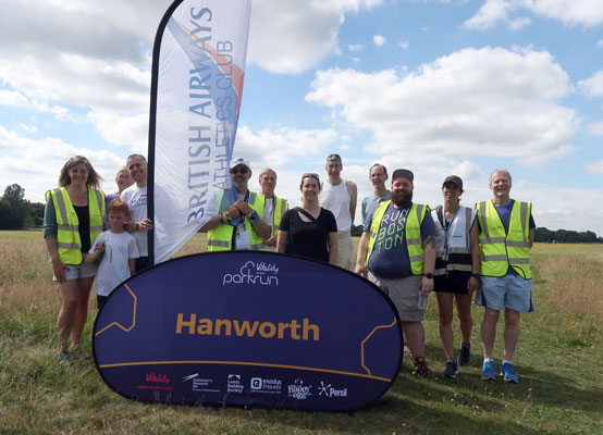 Hanworth volunteer team