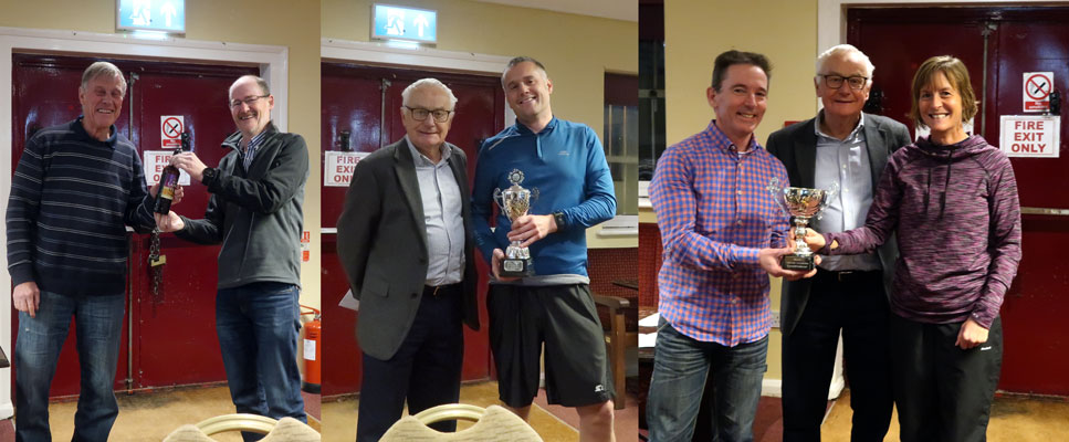 Other awards presented at the club 2019 awards evening