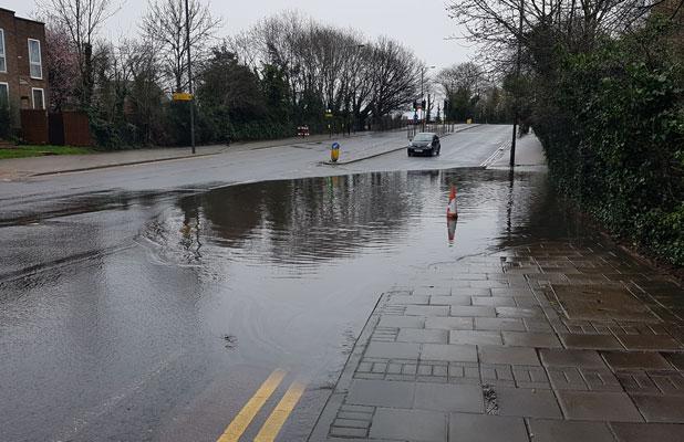 Harrow Hill 10k Flood