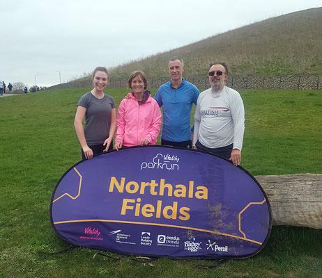 Northala Fields parkrun group photo