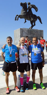 Piers at Alexander The Great Marathon