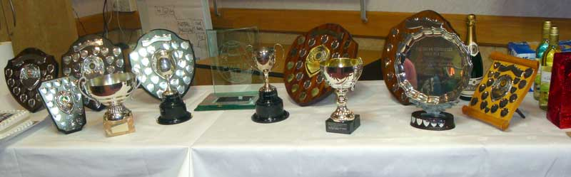 The BAAC Trophies.