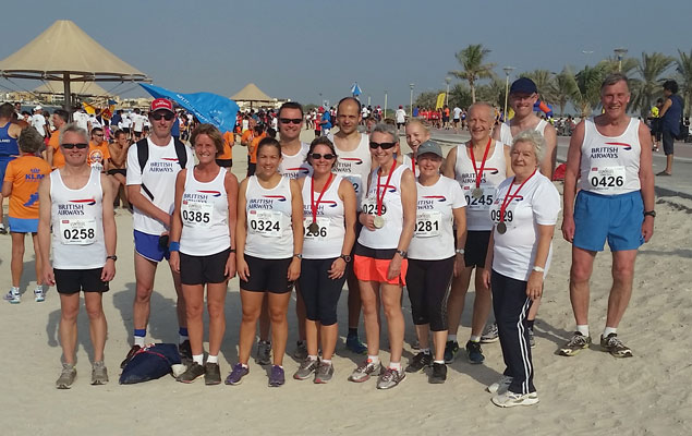 BAAC Road Racing Team at WARR 2015 Dubai