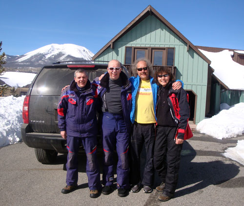 BA Skiers including Trevor Plows, Ian Monk and Jane Harbert