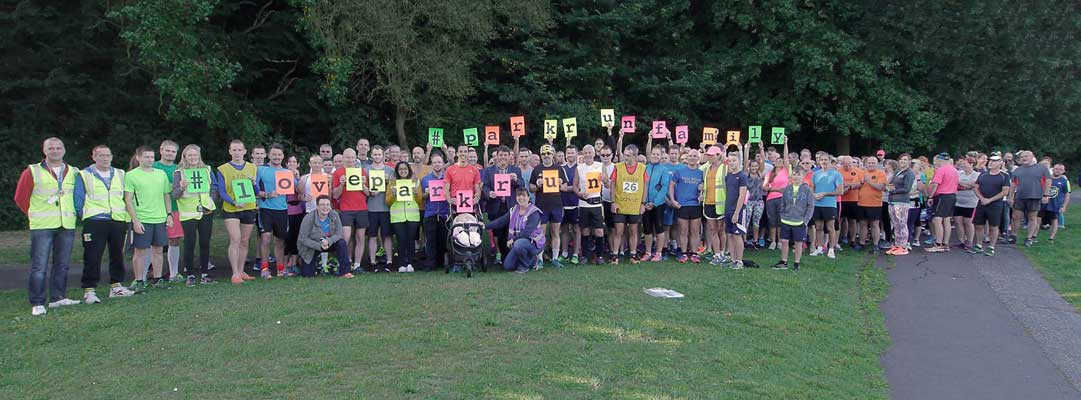 Basildon parkrun Oct 2016 promotion photograph