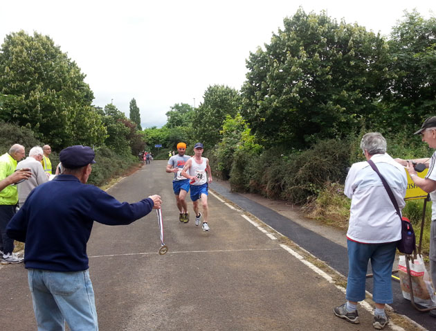 The finish of the Concorde Five 2014