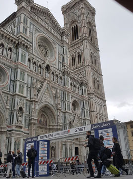 Florence Marathon Start