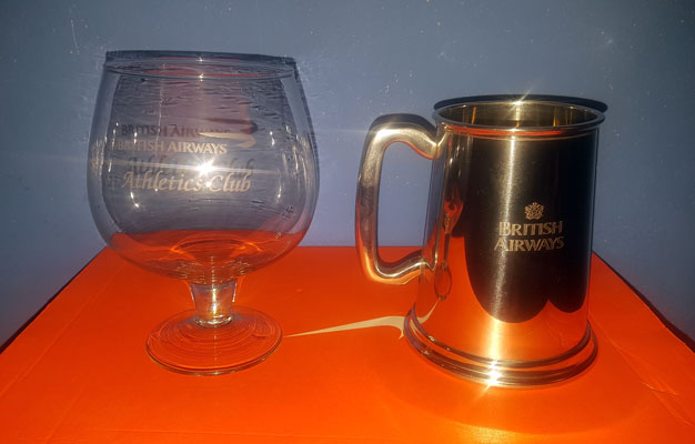 Goblet and Tankard
