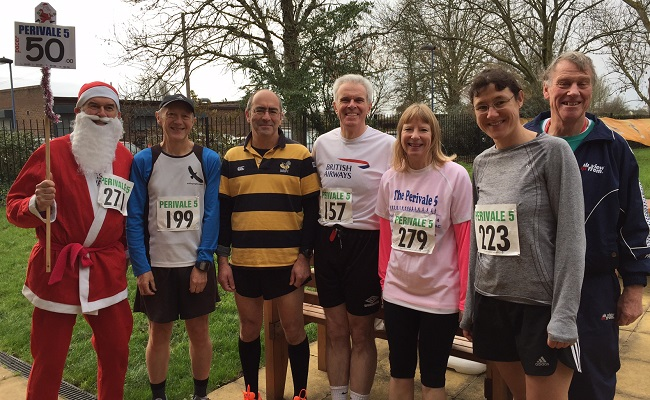 Perivale Five 2015 Finishers
