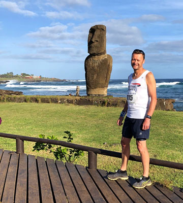 Tim Bellars on Easter Island