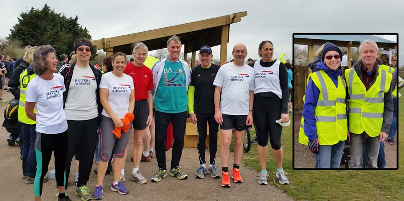 BAAC family parkrunners at Maidenhead