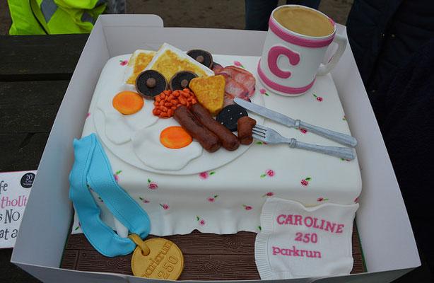 Caroline 250 cake